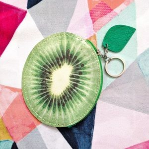 🆕 Fruit Coin Purse - Kiwi 🌱